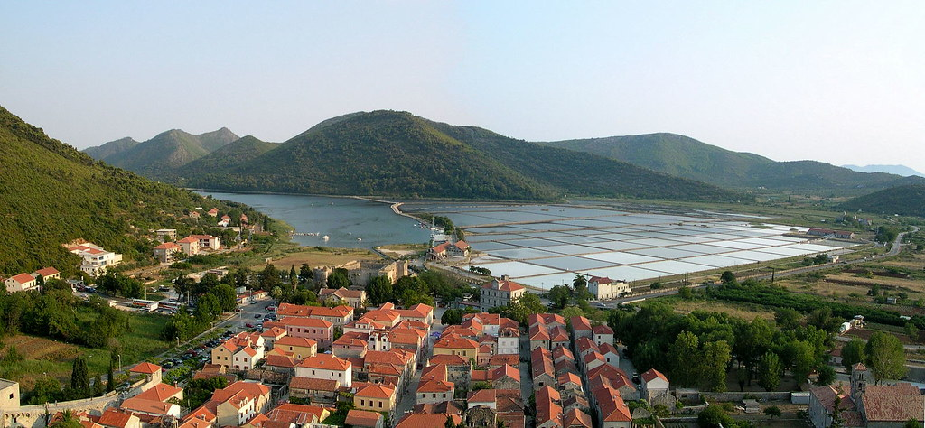 panorama of Ston