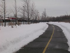 clear bike path