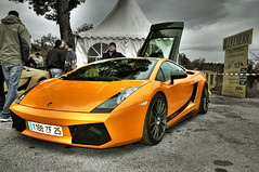 Lamborghini Gallardo Superleggera (Mainro) Tags: nikon d70s nikond70s voiture lamborghini hdr gallardo lamborghinigallardo superleggera photomatix lamborghinigallardosuperleggera