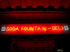 Soda Fountain (loungelistener) Tags: neon martin michigan a45 10thst