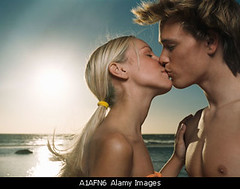 A1AFN6 (eshtaa) Tags: sunset sea summer vacation two people woman man sexy male love beach female outside photography evening holding kissing couple looking adult image space horizon young away romance blond passion ponytail lust lover heterosexual copy source touching intimacy tanned caucasians