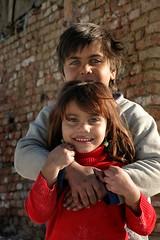 four eyes (janchan) Tags: poverty portrait roma kids children retrato documentary bulgaria ghetto ritratto rom gypsies reportage povertà pobreza gitanos zingari samokov tzigani whitetaraproductions mahalata