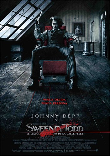 Sweeney Todd Tim Burton Johnny Depp