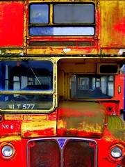 bus bright (topcat_angel) Tags: old red england bus abandoned yard reading rust transport routemaster berkshire scrap rm londontransport aec wlt577 publicservicevehicle rm577 topcatangeltopcatangelbridie
