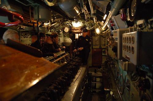 潜水艦U30内部
