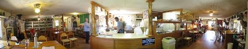 Inside Mrs Mac's BBQ Restautrant, Wimberly, Texas, USA