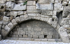 Stone Arch (Annie in Beziers) Tags: old france stone ancient arch stonework medieval thereef cathars bziers annieinbziers louisdor