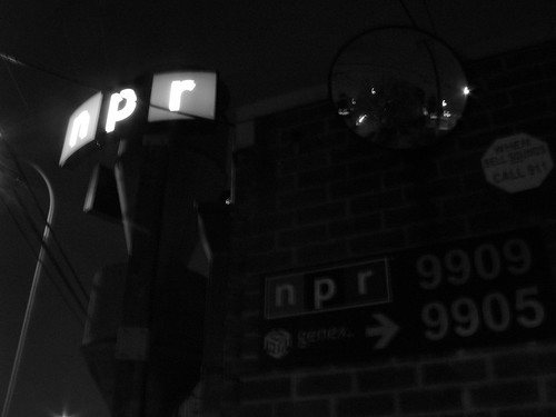 NPR West at Night