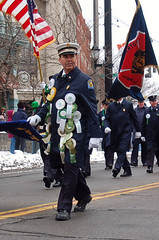 DSC_0056 (firephoto25) Tags: street city ny court d50 fire nikon ribbons chief parade firefighter stpatricks department binghamton hibernian