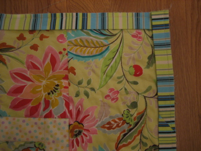 Quilting - attaching the binding