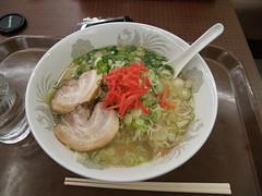 東名浜名湖で食べたとんこつラーメン
