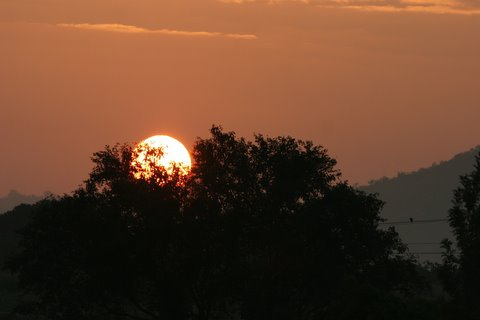 sunrise in ramnagara 021207