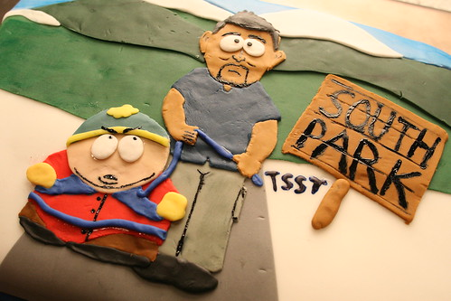 South Park Tsst Episode Cake