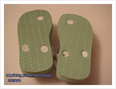 淺綠色拖鞋07
