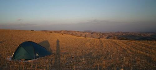 Acampando en Sierra Magina