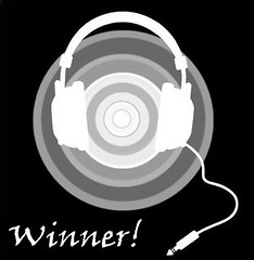 headphones logo winner