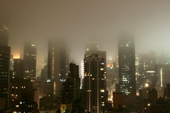Night over Gotham City (tommyajohansson) Tags: newyork misty geotagged evening skyscrapers nightshot manhattan foggy moo explore gotham afterdark faved gothamcity moocard tommyajohansson gettysubmission