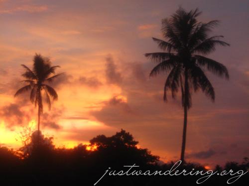 Awesome Tagaytay Sunset