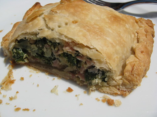 Ham & Spinach Pasty
