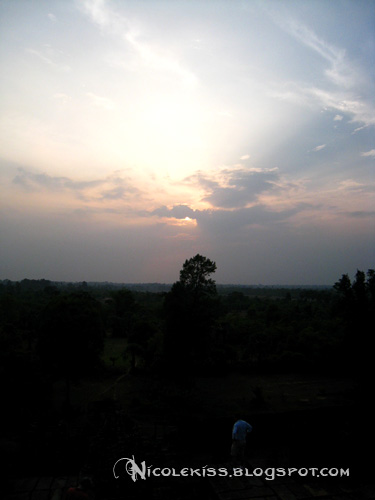 pre sunset at Pre Rup