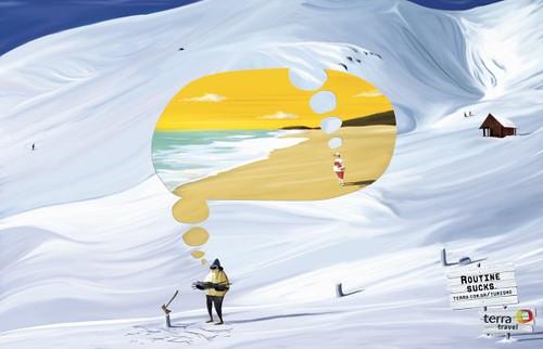 雪山胜景 vs. 阳光海岸