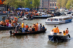 Amsterdam. On the Queen's Day 2009