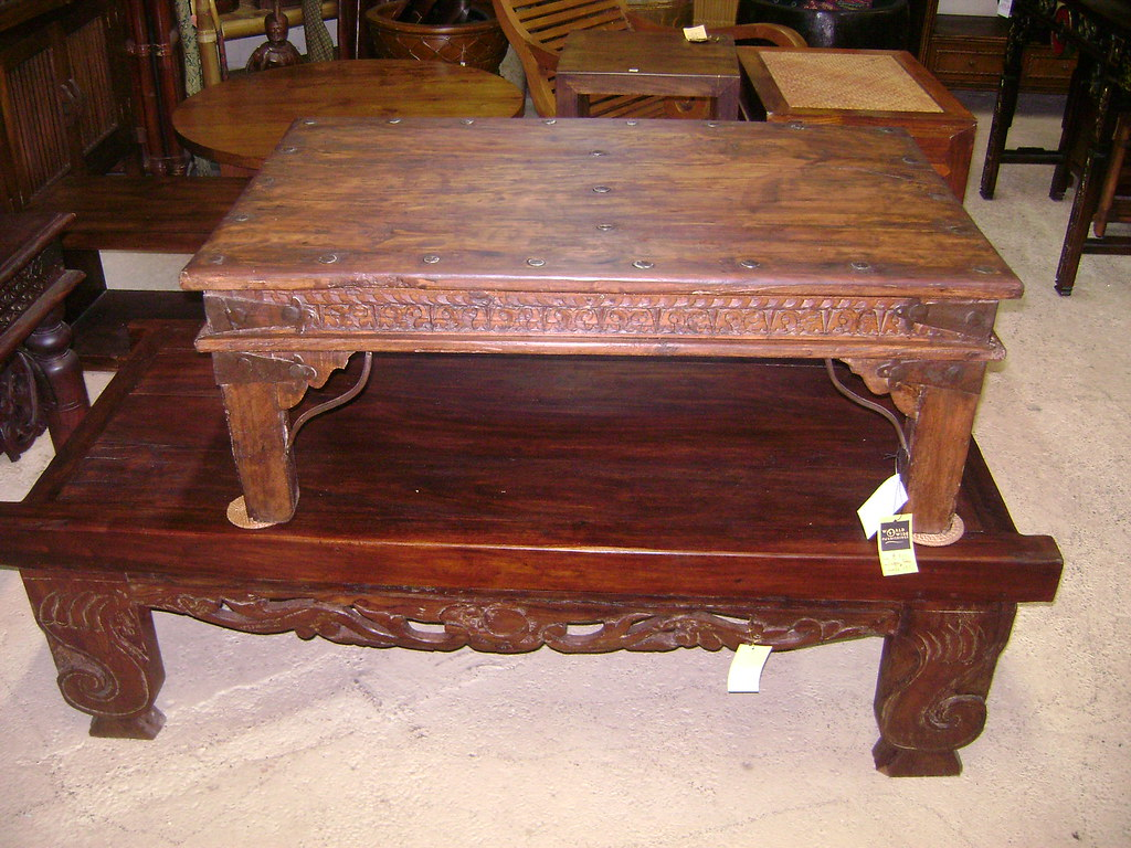 Carving Coffee Tables Honolulu - WorldWide Furnishings 970 Queen St Honolulu Hawaii 96814: (Diamond Head Side of Ward) Open Monday-Sunday 10am-6pm Stop by or Call 808-593-2127