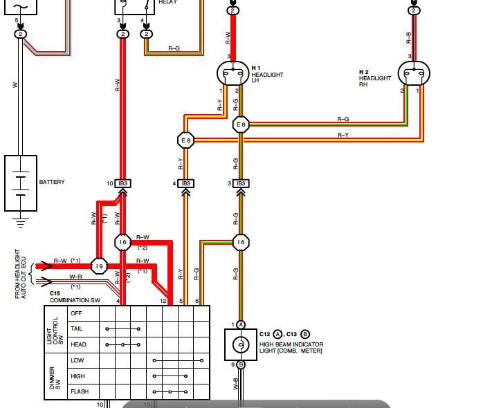 5695240266_e1f7f5f02c_o 2nd gen high beams don't work! relay? toyota 4runner forum 2000 Toyota 4Runner Engine Diagram at reclaimingppi.co