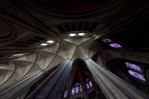 Bourges Cathedral - Ambulatory Vaults