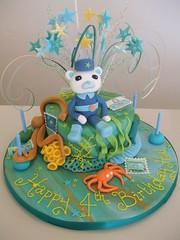 CAKE - Octonauts theme 2 (CAKE Chester) Tags: birthday party cake 4th crab sealife celebration chester octopus octonauts captainbarnacles
