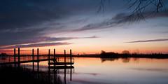 Mooie Nel (zsnajorrah) Tags: longexposure sky reflection haarlem water netherlands windmill silhouette rural sunrise explore efs1785mm eos600d