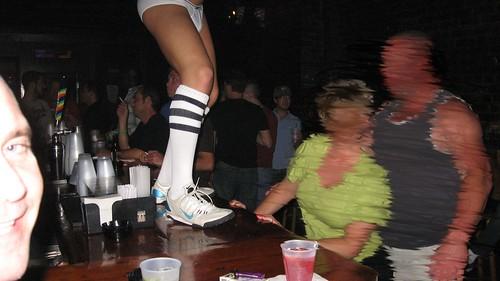 """straight"" couple at bar"