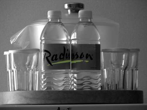 Radisson Bottled Water