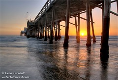 Newport Beach pier sunset (leapin26) Tags: california sunset beach pier losangeles newportbeach southerncalifornia superbmasterpiece goldenphotographer diamondclassphotographer theperfectphotographer