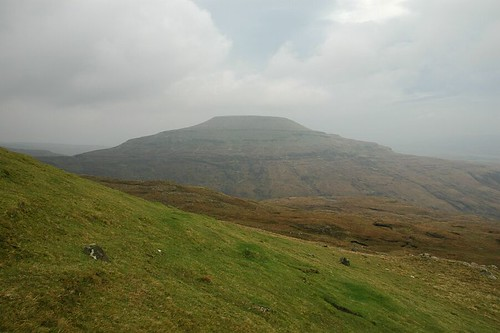 Healabhal Mhor From The Slopes Of Healabhal Bheag