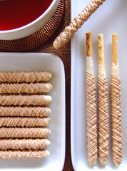 Dessert Pocky : Chestnuts cream & White chocolate (bananagranola (busy)) Tags: autumn food brown japan dessert japanese beige snack sweets japanesefood limitededition glico whetgobblefrolic