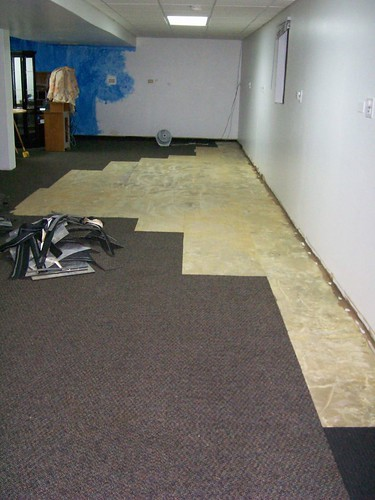 """My """"finished"""" basement room."""