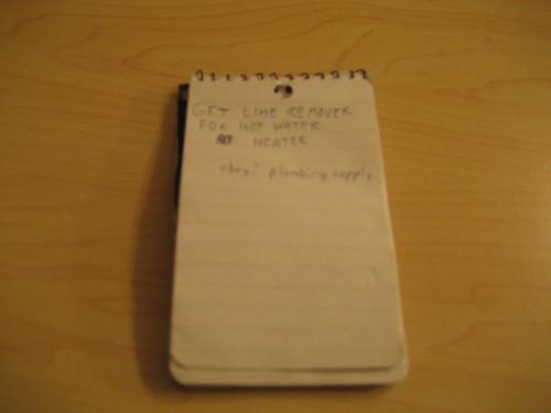Organized 2: A task