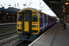 158910 (Howard_Pulling) Tags: station bridlington doncaster northernrail class158 158910 hpulling howardpulling