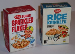 Sparkeled Flakes & Rice Krinkles