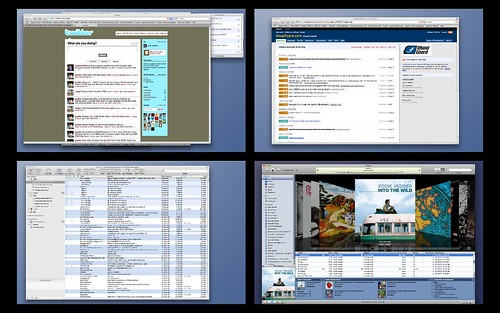 Safari Windows across multiple spaces