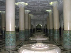 Washing room in Hassan II Mosque (Frans Harren) Tags: building canon geotagged mosque powershot morocco g1 casablanca canonpowershot canonpowershotg1 powershotg1 geolocated