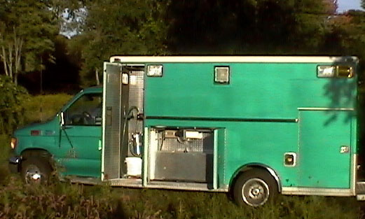 Green Ambulance Powered by Vegetable Oil