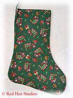 Train Christmas Stockings (Three Different Fabrics Available)