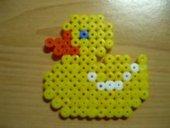 patito Hama beads (Garumiru) Tags: llaveros hamabeads