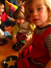 IMG_6718.JPG (Jason Lander) Tags: birthday friends party jason cake kids oregon portland toys ben presents candels magician caryn