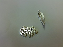 Pendant and brooch (Jewellery Workshops) Tags: brooch handcrafted pendant pmc artclay finesilver