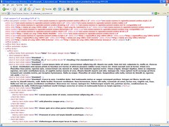Screenshot of the xml of an odt f