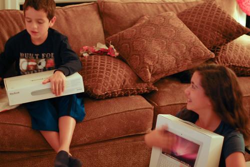 Kids get Macbooks for Christmas