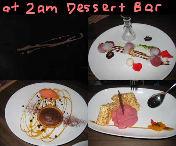christmas gathering at 2am dessert bar